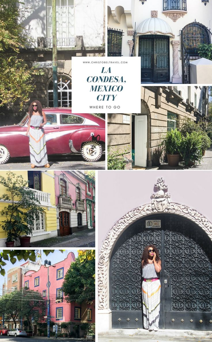 La Condesa in Mexico City: Where To Go - Visit restaurants, bars, cafes, boutiques, Hotel Condesa DF, art deco style, architecture, its neighbor district Roma, ciudad de Mexico. Chapultepec Castle (Castillo de Chapultepec) is near. City Guide, things to do and places to see. By Christobel Travel