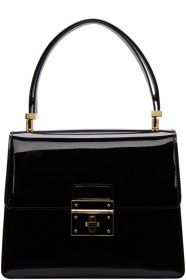 dda8aa227e Dolce   Gabbana Black Flap Lock Bag