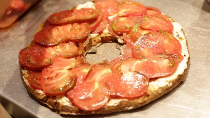 Vivian Howard's Ultimate Tomato Sandwich — heirloom tomatoes, homemade bread, killer mayo. #AChefsLife