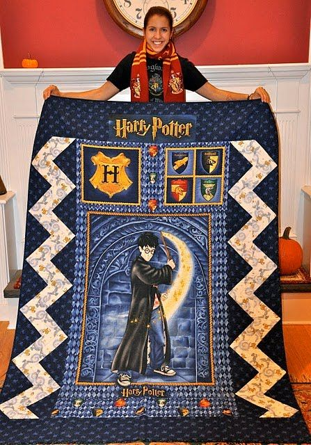 harry potter quilts | Selvage Blog: Harry Potter Theme Park and Quilt