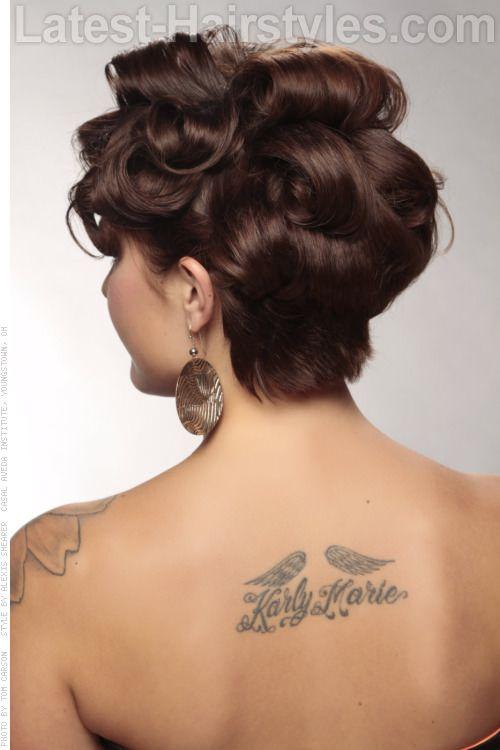 Awe Inspiring 1000 Ideas About Short Hair Up On Pinterest Short Hair Shorter Hairstyles For Men Maxibearus