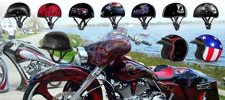 We have the best collection of helmets, but the 3-D novelty helmet in the rose is fully lined with a custom formed interior for X-treme comfort is one of the best helmet. #Bikers #Roadies #Stunts #Leatherjackets #HarleyDavidson