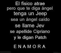 Inspiring image alas, angel, be, frases, hush hush, love, patch, cipriano #2281009 by miss_dior - Resolution 500x427px - Find the image to your taste