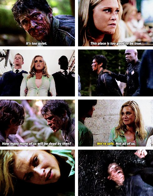 Bellarke parallels in season 2 episode 1 || The 100 spoilers || Bellamy Blake and Clarke Griffin