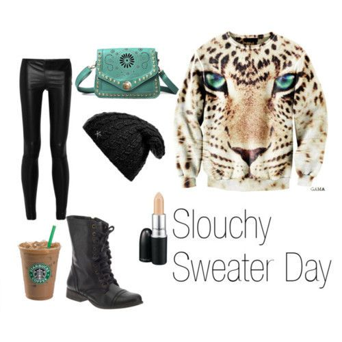 slouchy sweater day [here kitty kitty]: Thee Outfit, Fashion 3, Slouchy Sweaters, Day Outfit, Black Ankle Boots, Fall Fashion, Fashion Inspiration, Fashion Styl, Fashion Tasting