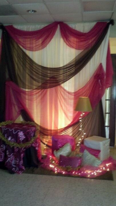 Decora con cortinas decoraciones con telas y algo mas - Decoracion con cortinas ...