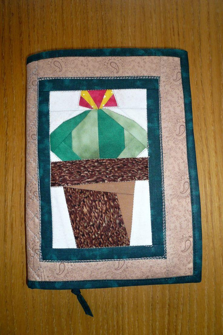 obal na knihu pro kaktusáře
