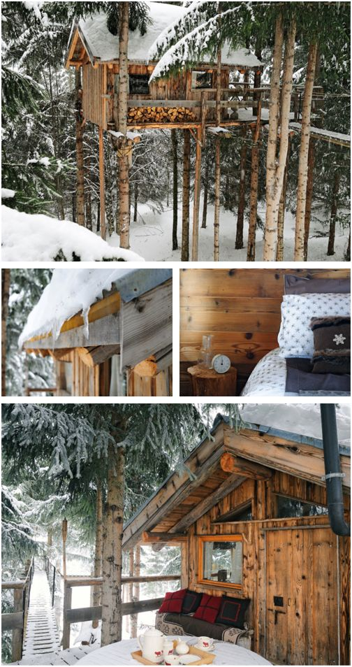 treehouse + cabin = perfection!
