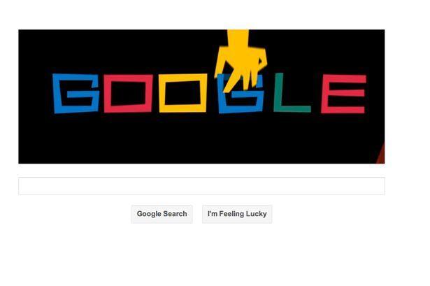 Saul Bass Google Doodle
