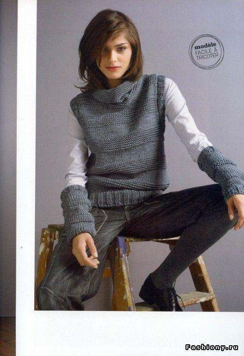Стильные вязанные вещи для вдохновения рукодельницам! / вязание спицами модели и схемы бесплатно
