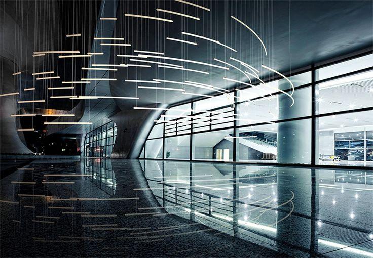 heathfield co produces bespoke lighting installations