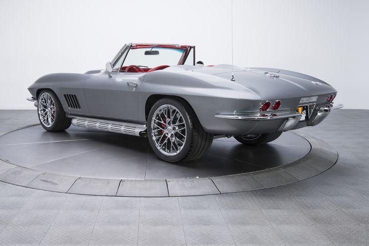 1967 Chevrolet Corvette Sting Ray Silver For Sale