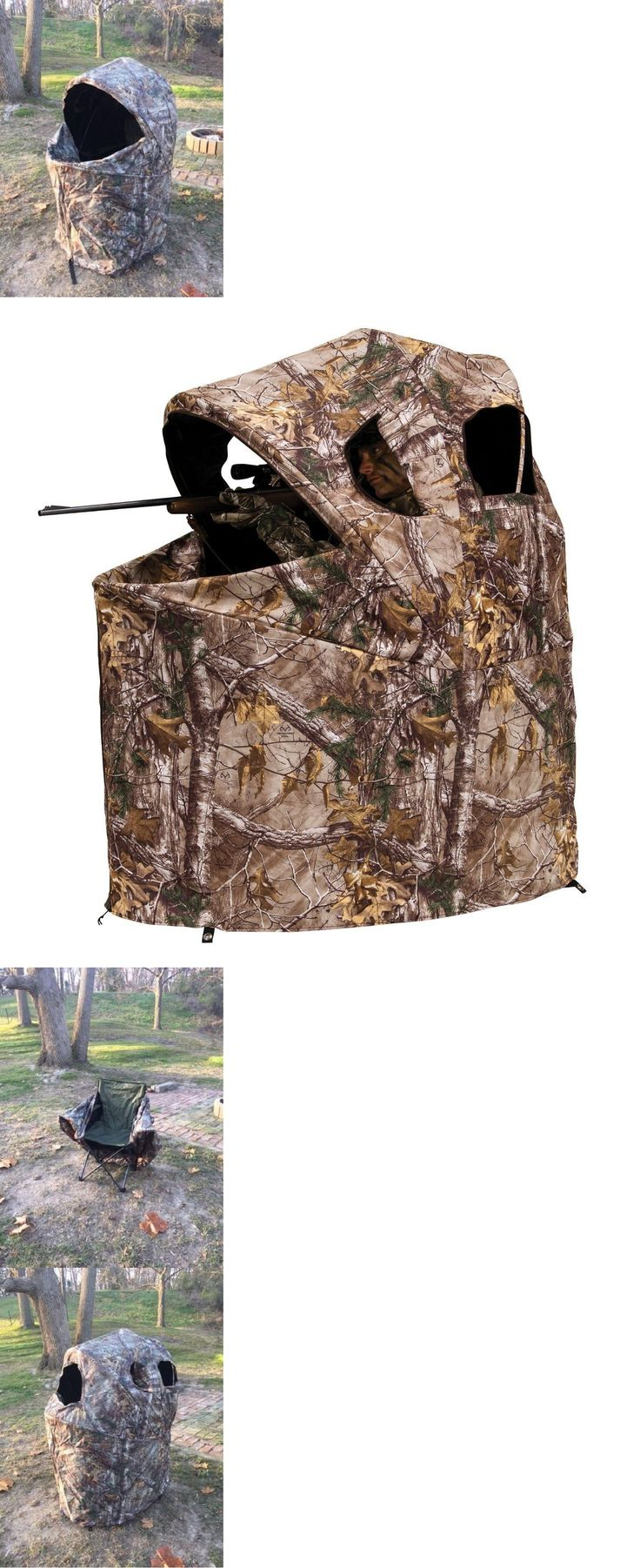 Blinds 177910: Portable Hunting Blind Turkey Duck Deer Waterfowl Folding Ground Camo Bow Hunt -> BUY IT NOW ONLY: $119.47 on eBay!
