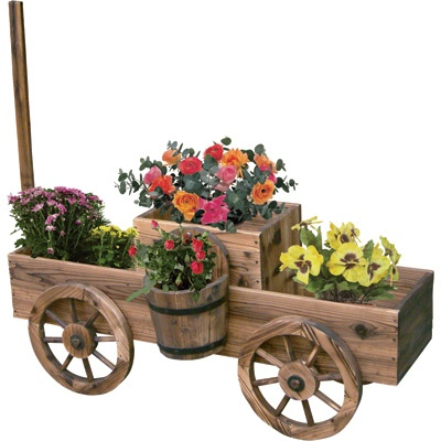 158 Best Wheel Barrow U0026 Wagon Planter Images On Pinterest | Gardening,  Landscaping And Wagon Planter