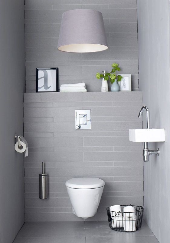 Simple but elegant toilet idea. I like the bathroom lighting above the toilet. #bathroomsets #bathroomdecorideas | From: http://roomdecorideas.eu/