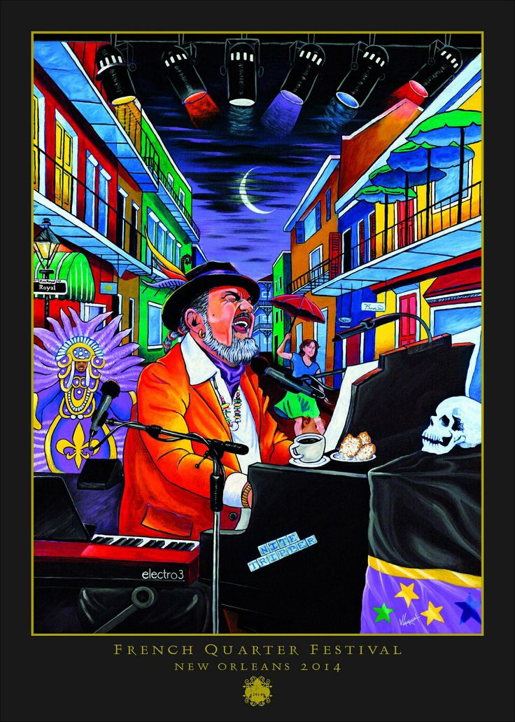 French Quarter Fest 2014 Poster