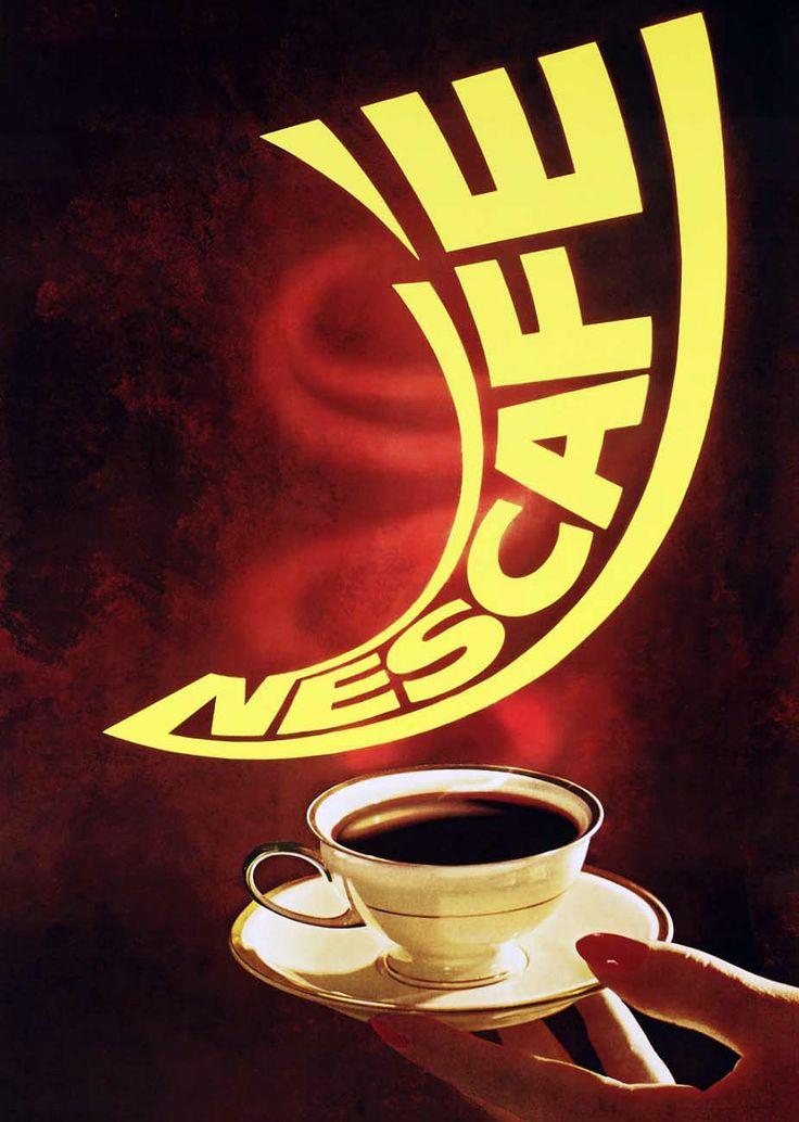 NESCAFÉ, coffee, advertising, idea, illustration, draw ...