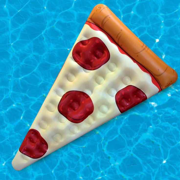 Gigantic Pizza Slice Pool Raft - The Green Head