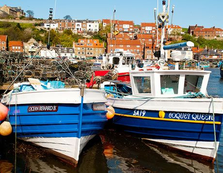 Whitby features in Bram Stoker's Dracula and it's where Captain Cook served his apprenticeship. Marvel at the gothic splendour of the Abbey ruins which overlook the town.  Take the scenic drive over the #NorthYorkMoors or hop on the train at Pickering!