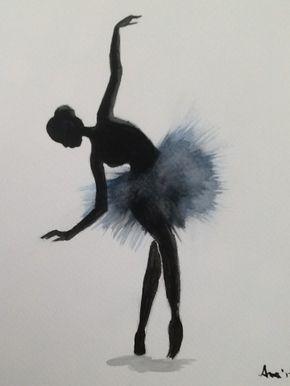 pintarviviramar: Bailarina 4