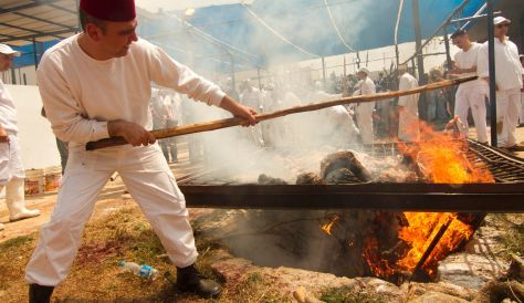 Mt. Gerizim Samaritan animal sacrifices during Passover // April 23, 2013