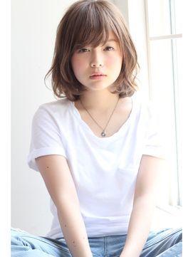 【GARDEN】ノームコア×うぶバング×ミディアム(田塚裕志) - 24時間いつでもWEB予約OK!ヘアスタイル10万点以上掲載!お気に入りの髪型、人気のヘアスタイルを探すならKirei Style[キレイスタイル]で。