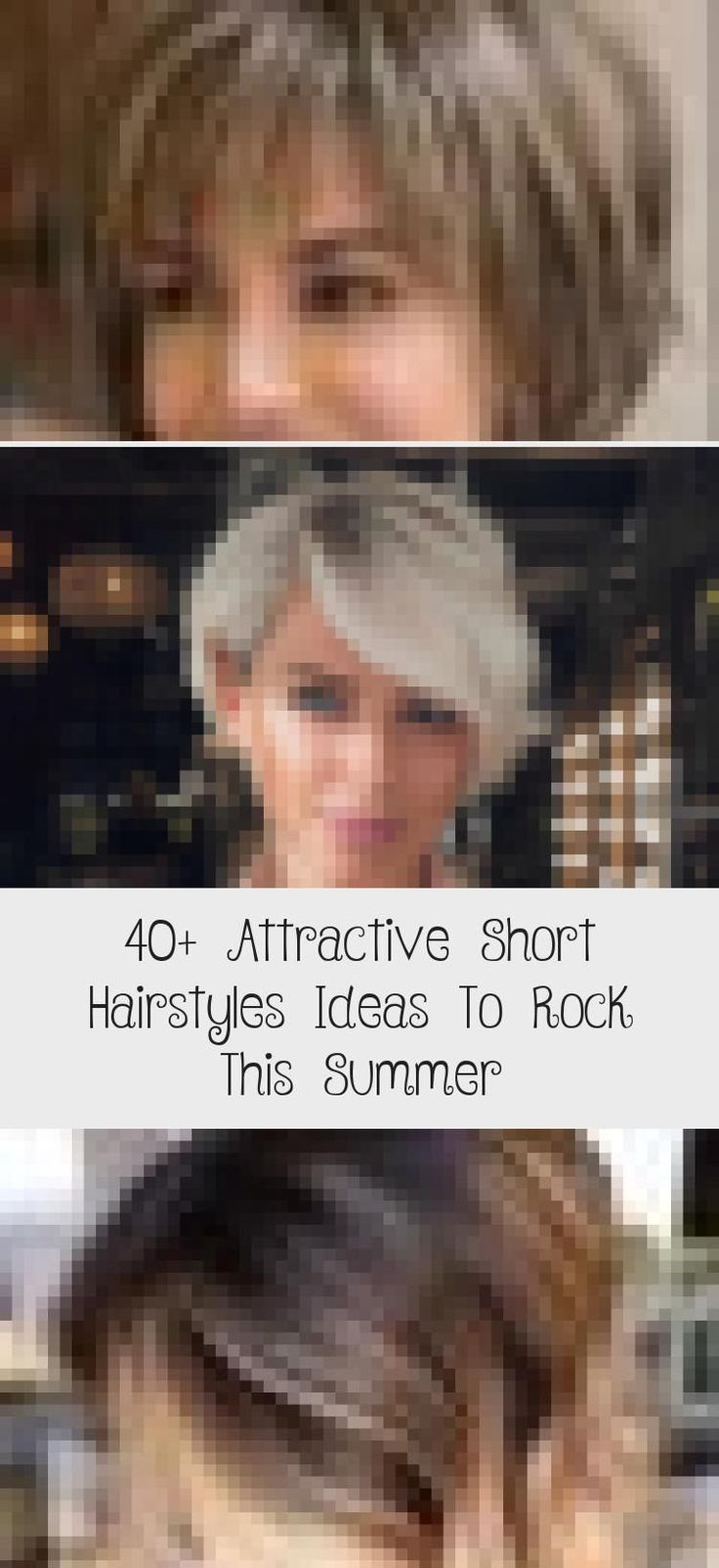 40+ attraktive Ideen für kurze Frisuren, um diesen Sommer zu rocken - Frisur - #attraktive #diesen #frisuren #ideen #kurze #rocken #sommer - #new