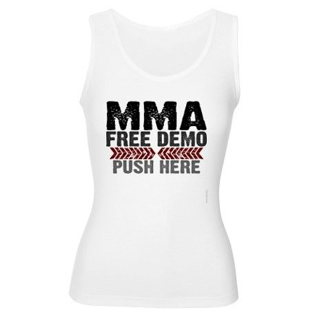 Mixed Martial Arts Womens Tank Top