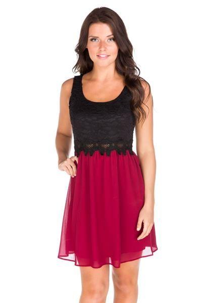 Sleeveless Chelsea Lace Dress