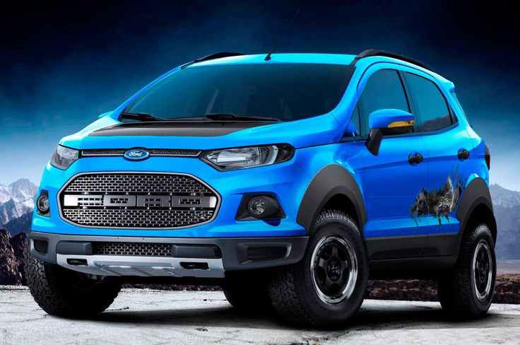 2015 Ford EcoSport concepts - Provided by MotorTrend Raptor- like Ford Ecosport