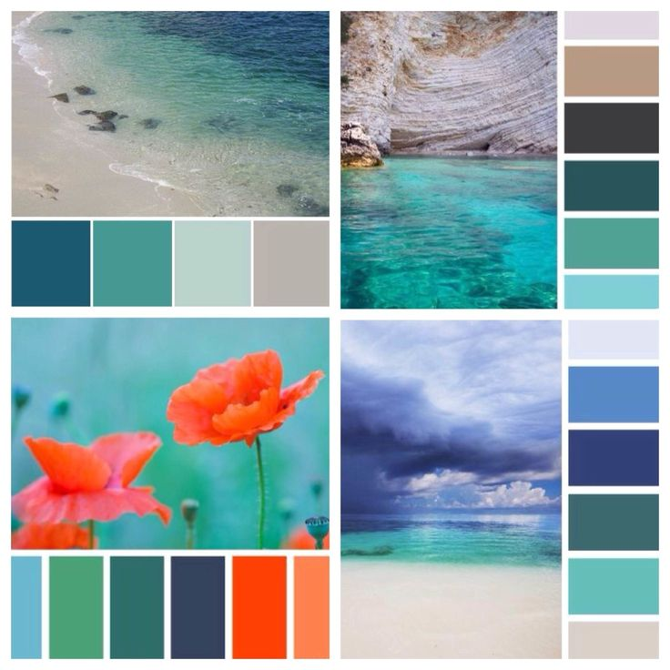цвет морской волны сочетания: 16 тыс изображений найдено в Яндекс.Картинках