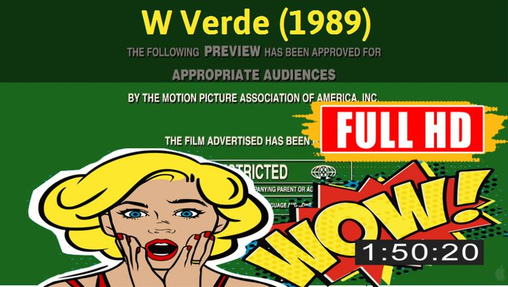 Watch W Verde (1989) Movie online : http://movimuvi.com/youtube/RjE0VWlFeFA0TVRSTUQwRnhXVmpMdz09  Download: http://bit.ly/OnlyToday-Free   #