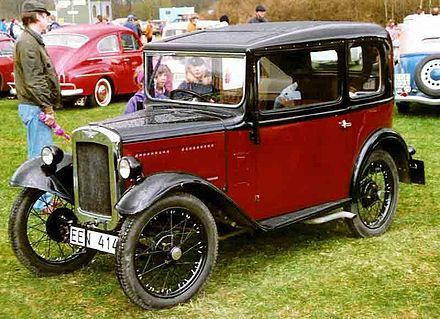16th March 1935 - The first driving test was taken by a Mr Beene. The test cost 7s 6d, or 37.5p in modern coinage. Mr J Beene was in fact taking the test voluntarily, as compulsory testing only began on 1st June the same year. | Pictured is an Austin 7 saloon 1931 - Wikipedia, the free encyclopedia