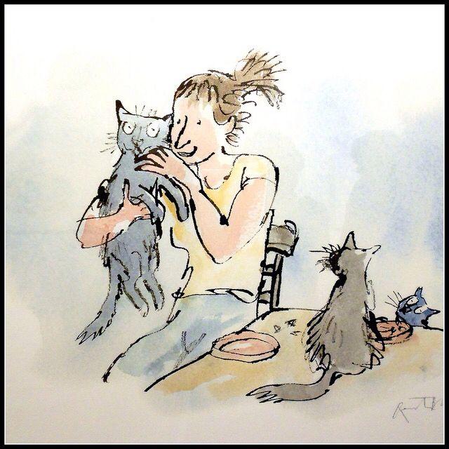 My very best friends. ! Artist Quentin Blake