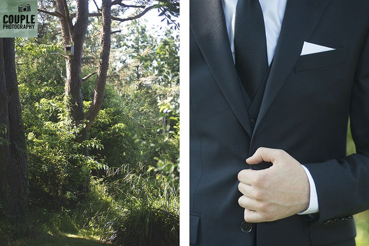 Detail of the groom's suit. Weddings at Druids Glen Hotel by Couple Photography.