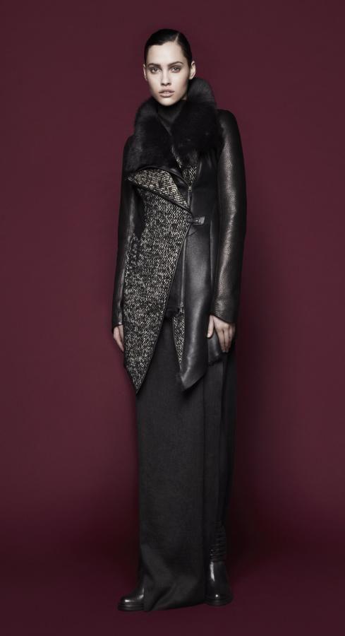 Vsp shearling coat