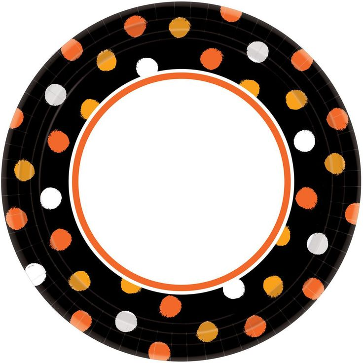 Amscan 10 In X 10 In Halloween Haunt Couture Plate 40 Count 4
