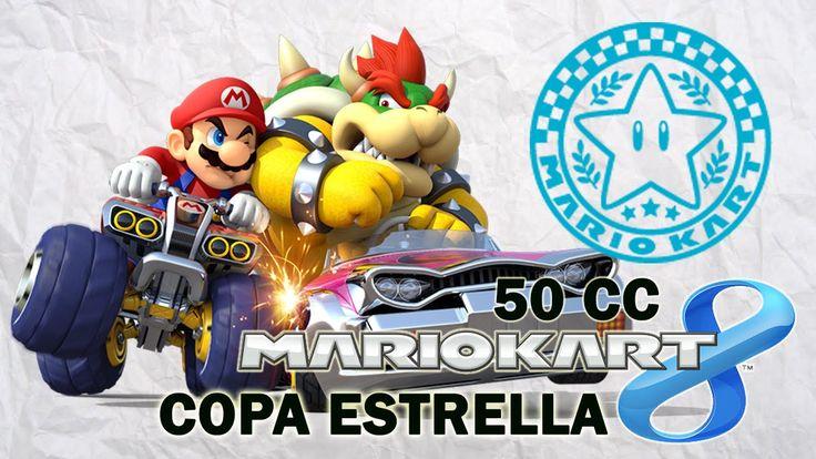 Mario Kart 8 Copa Estrella - En español jugando con Mario. Gameplay de Mario Kart 8 en 50 cc, Copa Estrella jugando con Mario. Visita mi sitio web: http://www.adverglitch.com