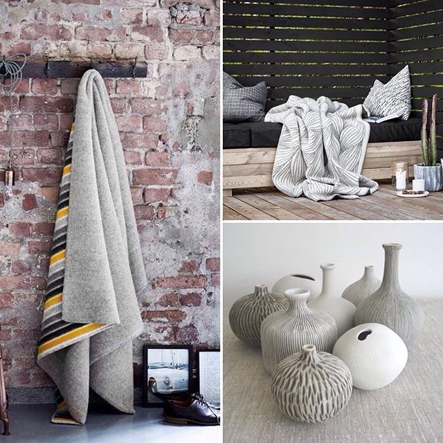 No matter where or when, people are always looking forward to the arrival of the Scandinavians . On their way to France and Canada as we speak, 100% woolen Røros blankets Flette and Konfetti. Staying close to home, Lindform ceramic mini vases Bari.  Free shipping - Worldwide. #scandinavian #norway #sweden #freeshipping #lindformsweden #rorostweed