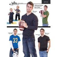 Jalie Pattern 2918 Men's T-Shirts
