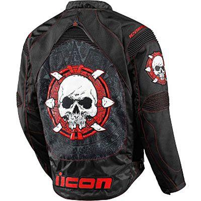 Icon Contra Sacrifice Motorcycle Jacket - Icon Motorcycle Jackets - Motorcycle Obsession