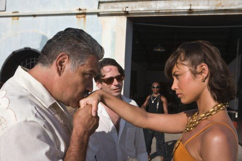 Titel: James Bond 007 - Ein Quantum Trost  Namen: Mathieu Amalric, Olga Kurylenko  Rollen: General Medrano, Camille Montes, Dominic Greene