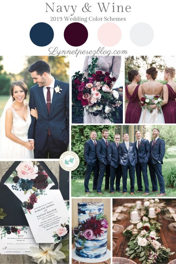 Top 2019 Wedding Color Trends In 2020 With Images Top Wedding