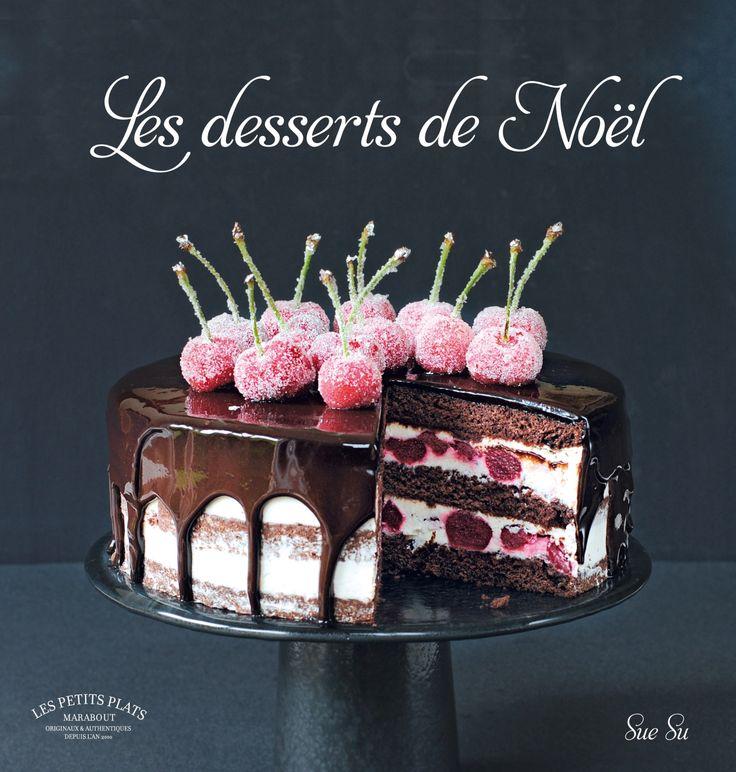 http://www.marabout.com/les-desserts-de-noel-9782501109604 35 recettes de desserts, de gâteaux dans la pure tradition de Noël #gourmand #noël #dessert #marabout