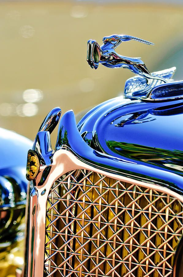 1931 Chrysler Cg Imperial Dual Cowl Phaeton Hood Ornament - Grille by Jill Reger