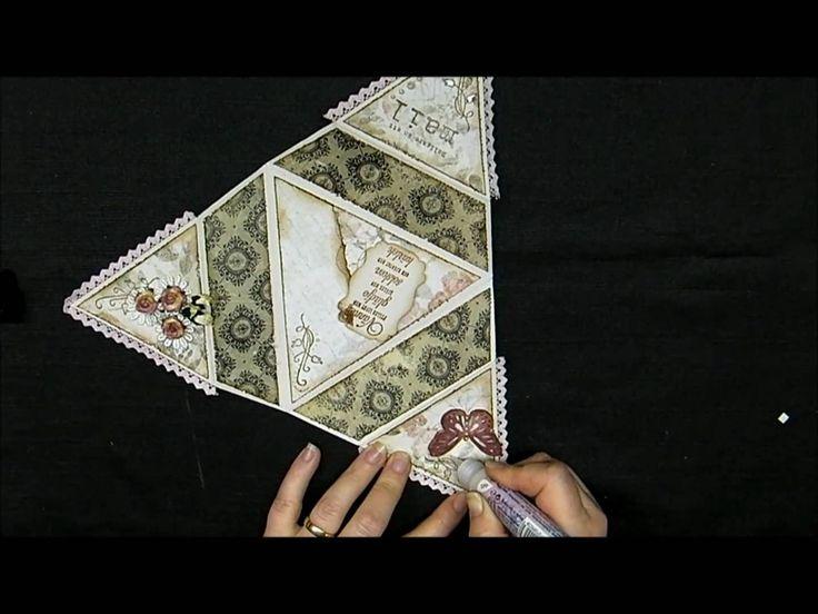 Starfolded card - Tutorial