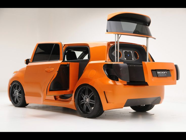 2009 Scion xD Mobile Kitchen