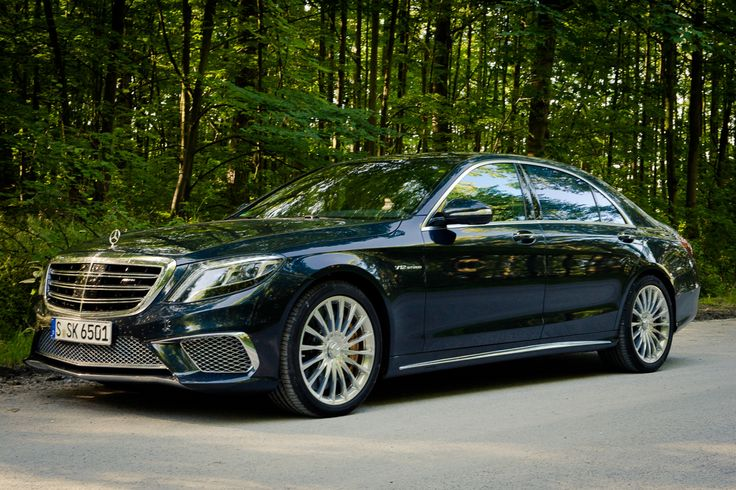Mercedes-Benz S 65 AMG-handbuilt twin-turbocharged V12 makes 621 horsepower and 738 ft-lbs of torque.