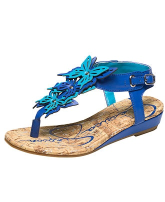 Jessica Simpson Kids Shoes. I love the shades of the blue