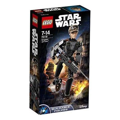 Chollo Amazon España: Juego de construcción LEGO Star Wars Sargento Jyn Erso, 6,89€ (rebaja 74% del precio de venta recomendado y precio mínimo histórico)